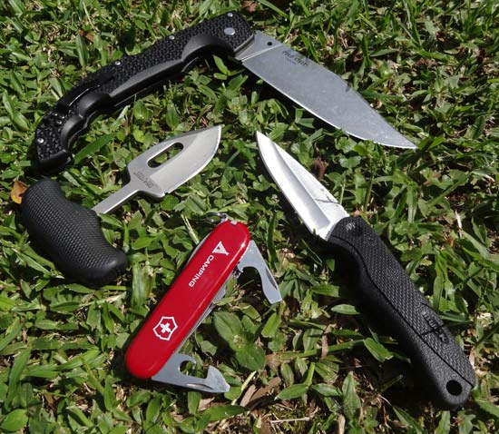 Best knives for self defense - a variety of different types of knives