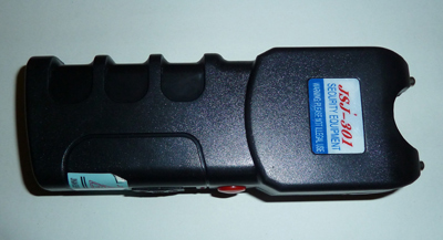 Non lethal weapons - Stun gun for delivering a shock to your attacker