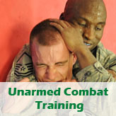 Unarmed combat training