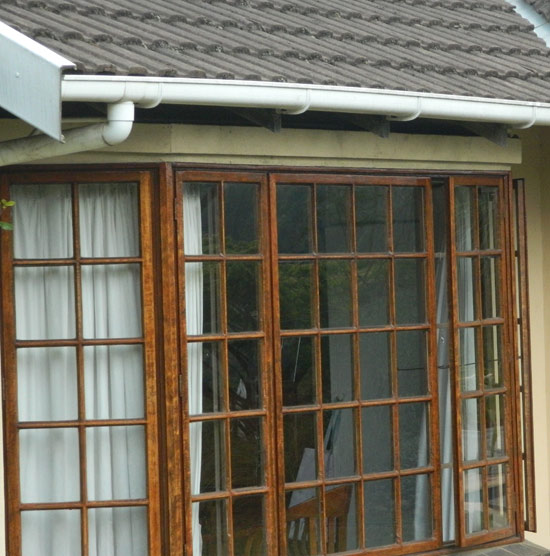 Home Window Security - Wooden burglar bars