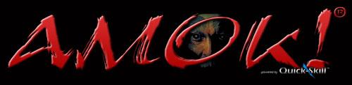 Amok! Combatives website logo