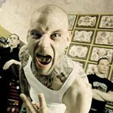 The Criminal Mind - Skinhead criminal with tattoos screaming at camera