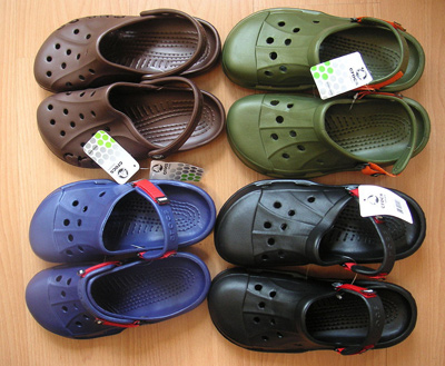Crocs shoes are not a good clothing choice for self defense
