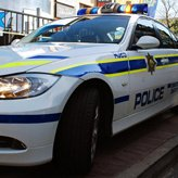 Police Response - South African police car